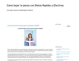 dietasrapidasyefectivas7.blogspot.mx screenshot