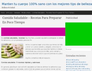 dietaybelleza.net screenshot
