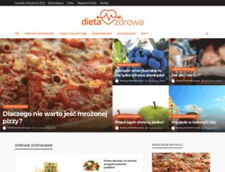 dietazdrowa.pl screenshot