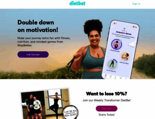 dietbet.com screenshot