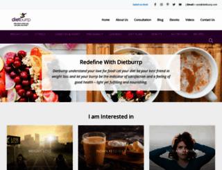 dietburrp.com screenshot