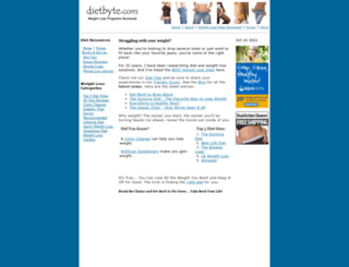 dietbyte.com screenshot