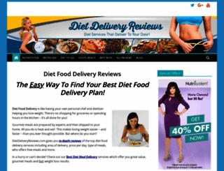 dietdeliveryreviews.com screenshot
