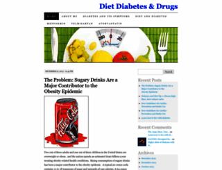 dietdiabetesdrugs.wordpress.com screenshot
