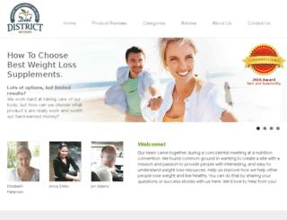 dietdistrict.com screenshot