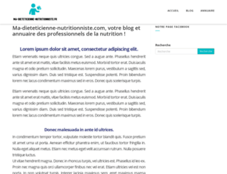 dieteticienne-nutritionniste.myebox.fr screenshot