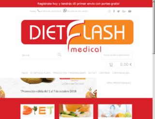 dietflashmedical.com screenshot