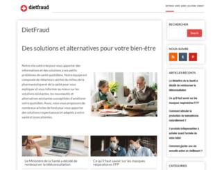 dietfraud.com screenshot