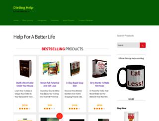 dieting-help.com screenshot