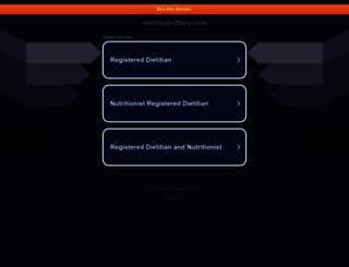 dietitianbrittany.com screenshot