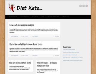 dietketo.com screenshot