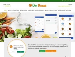 dietkundali.com screenshot