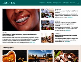 dietoflife.com screenshot