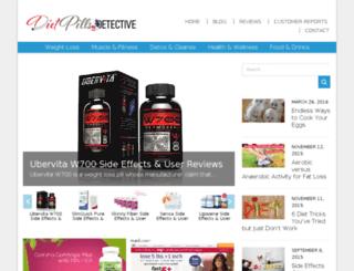 dietpillsdetective.com screenshot