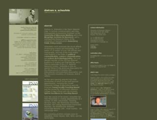 dietramscheufele.com screenshot