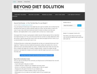 dietsolutionsprogram.net screenshot