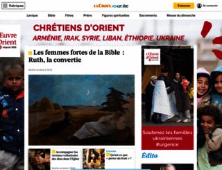 dieu.croire.com screenshot