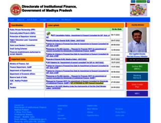 dif.mp.gov.in screenshot