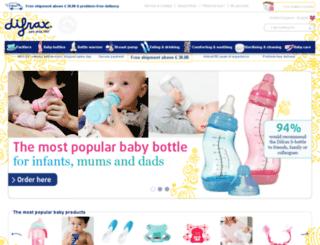 difrax.co.uk screenshot