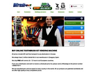 difreshshop.com screenshot