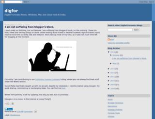 digfor.blogspot.com screenshot