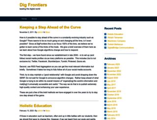 digfrontiers.com screenshot