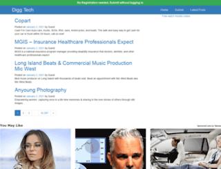 digg.wikitechguru.com screenshot