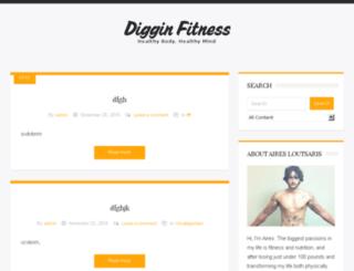 digginfitness.com screenshot