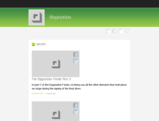 diggnation.com screenshot