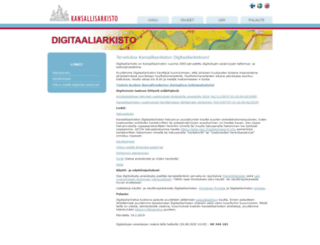 digi.narc.fi screenshot