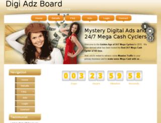 digiadzboard.com screenshot