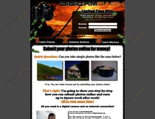 digicamcash.com screenshot