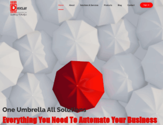 digiclayinfotech.com screenshot
