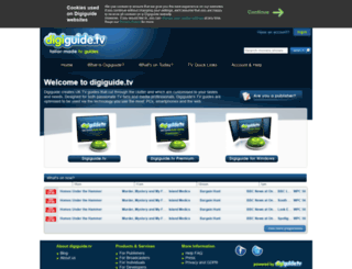 digiguide.com screenshot