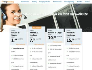 digihosting.nl screenshot