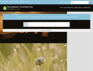 digilib.unri.ac.id screenshot