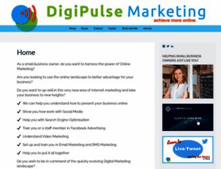 digipulsemarketing.wordpress.com screenshot
