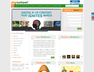 digischool.hcllearning.com screenshot