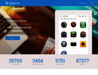 digiseller.ru screenshot