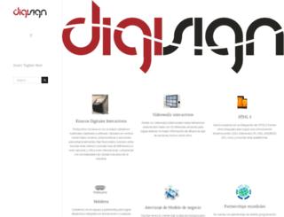 digisign.mx screenshot