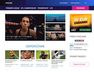 digisport.sk screenshot