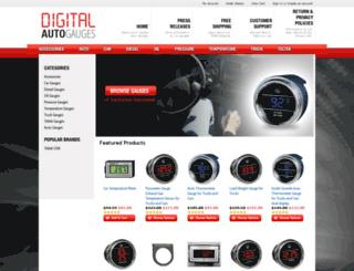 digital-auto-gauges.com screenshot