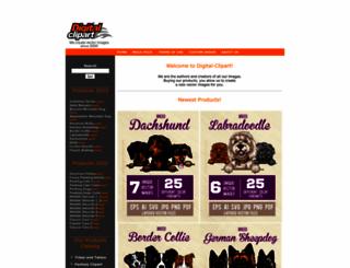 digital-clipart.com screenshot