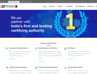 digital-himalaya.com screenshot