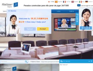digital-signage-manufacturer.pt screenshot