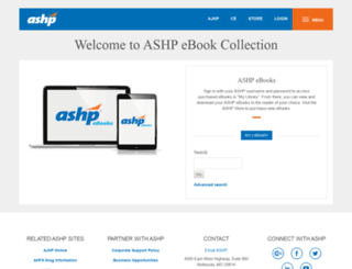 digital.ashp.org screenshot