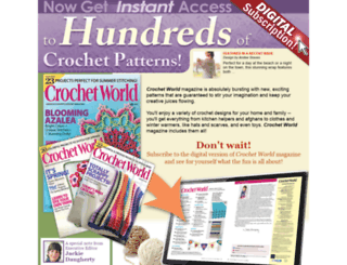 digital.crochet-world.com screenshot
