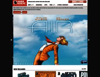 digital.darkhorse.com screenshot