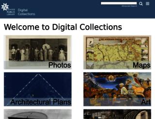 digital.denverlibrary.org screenshot