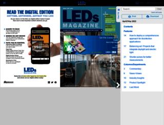 digital.ledsmagazine.com screenshot